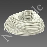 Силиконовый высоковольтный кабель белый ПРКВ-1-20.