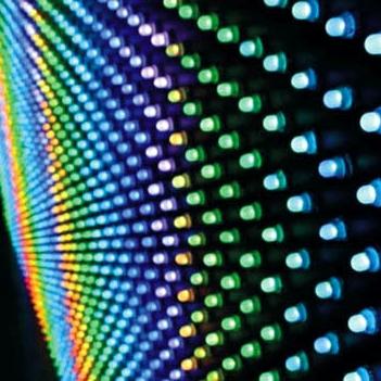 Гирлянда из интеллектуальных RGB-светодиодов
