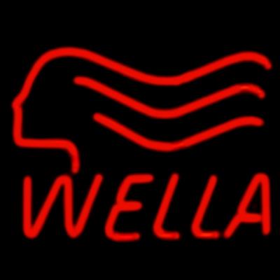 Неоновая вывеска на оргстекле в ассортименте Wella