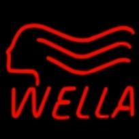 Неоновые вывески на заказ 500х500 Wella