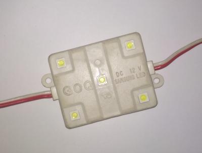 модуль SMD GOQ 5-диод, белый (Lкабеля=220мм)