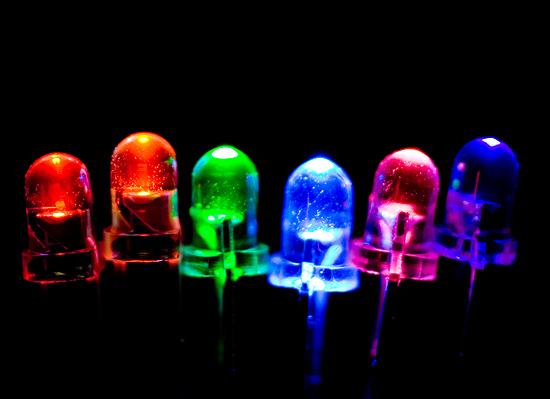 светодиоды разноцветные